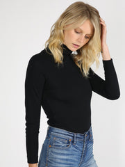 Black turtleneck bodysuit 2