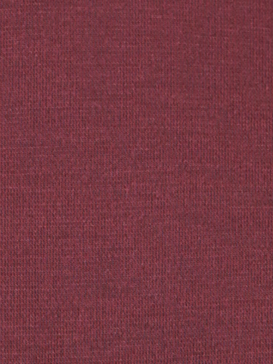 Red turtleneck bodysuit fabric detail