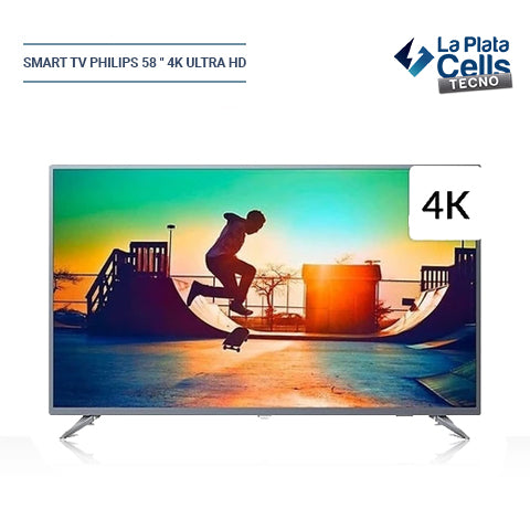 "Smart TV Philips 58 "" 4K Ultra HD 58PUD6654/77"