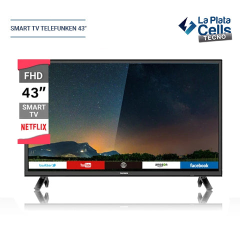 "SMART TV TELEFUNKEN 43"" (TK4319FK5)"