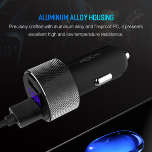 Premium fast charger for cars 5V 3.4A