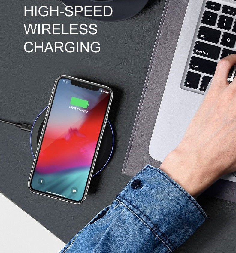 Powermax | Wireless charger voor iPhone & Samsung