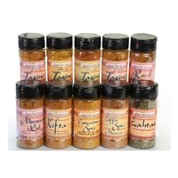 Moroccan Spices Complete - Set of 10