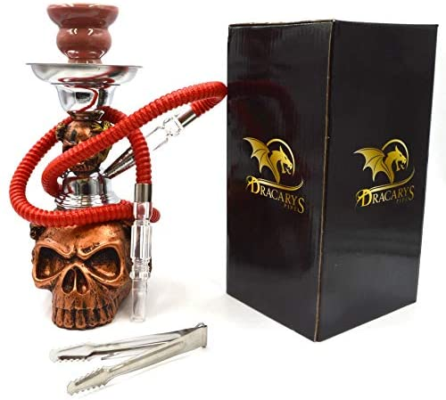 Dracarys Hookah by Dreki Pipes Smoking Hookah Shisha Pipe for Smoking and Collecting