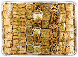 Baklava Assortment - 63 Pcs.