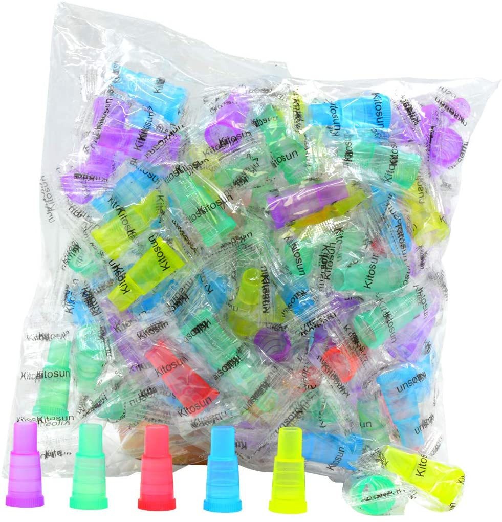 Hookah Tips Disposable Hookah Mouth Tips Multi-Color Food Grade Female/Male Mouth Tips Hookah Accessories(100pcs-M)