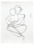 Lovers I One line I Medium size