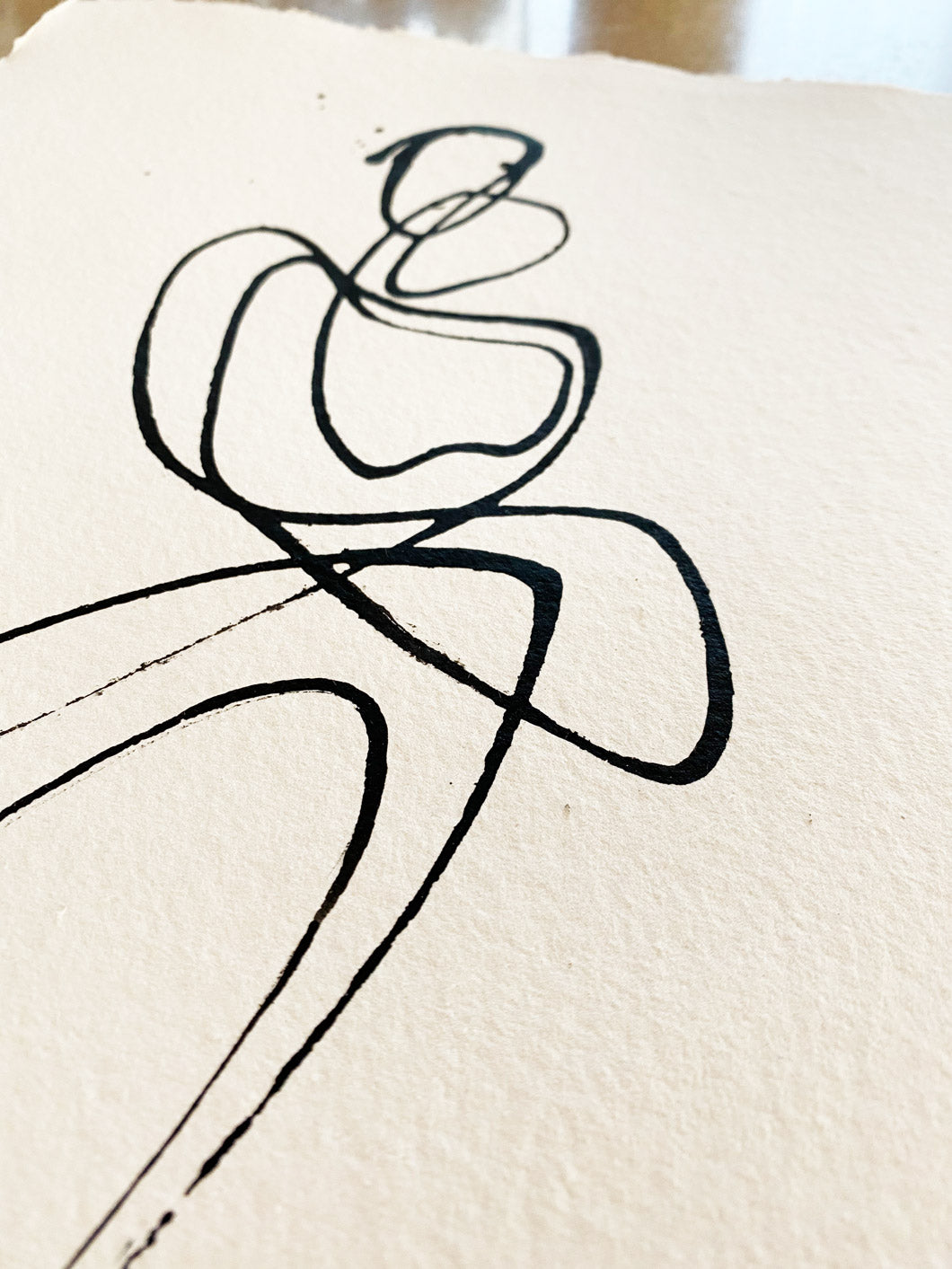 Dancing Slowly I One line I A3