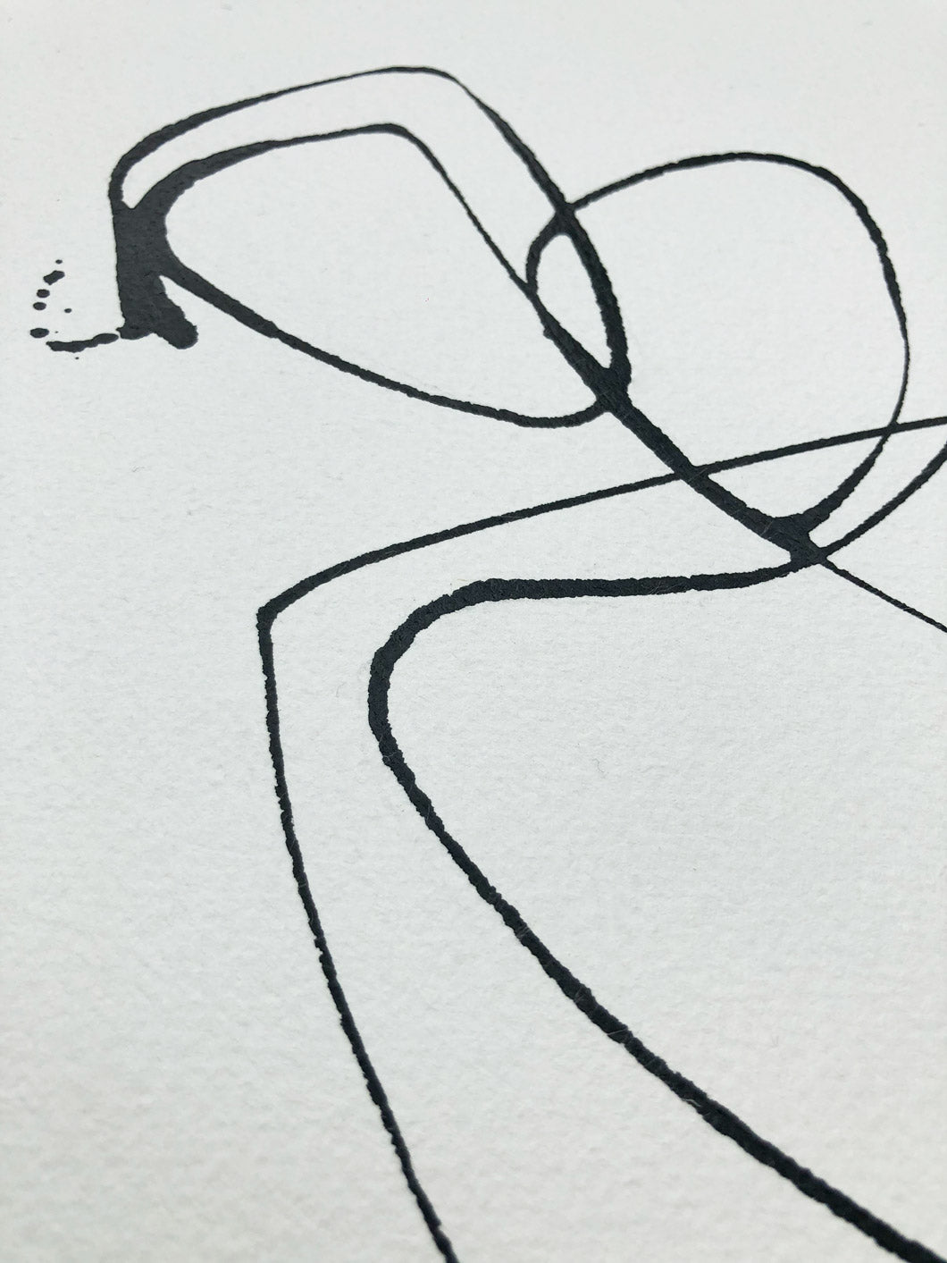 Lovers I One line I Medium