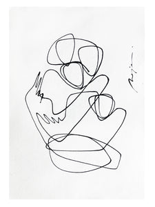 The Inseparable Four I One line I Unframed