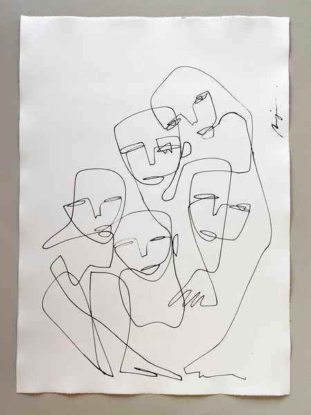 The Inseparable Five I One line I Medium