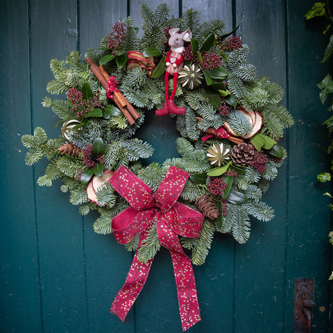 Willow Garden Traditional Christmas Wreath *SOLD OUT*