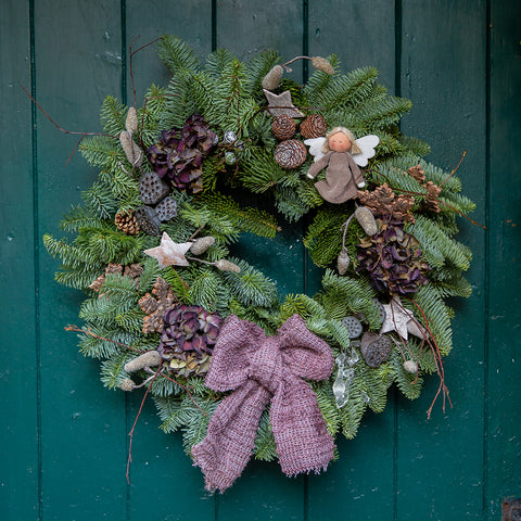 Willow Garden Vintage Sparkle Christmas Wreath *SOLD OUT*