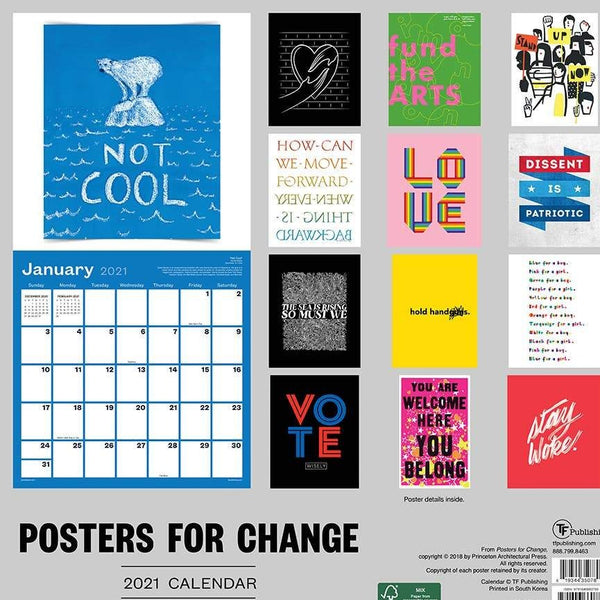 Posters for Change Calendar - 11:11 Supply