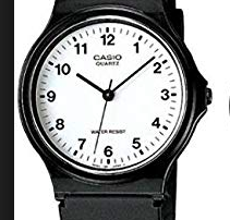 Casio MQ-24 Watch White Small Numbers - 11:11 Supply