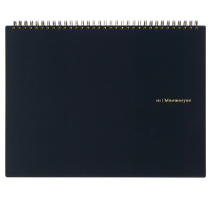 Mnemosyne Blank Large Notebook - 11:11 Supply
