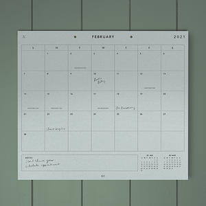 Large Studio Calendar - 11:11 Supply