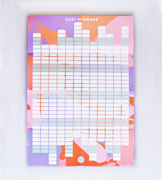 2021 Year Planner - 11:11 Supply