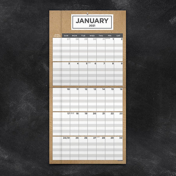 Parent / Multi-Row Calendar 2021 - 11:11 Supply