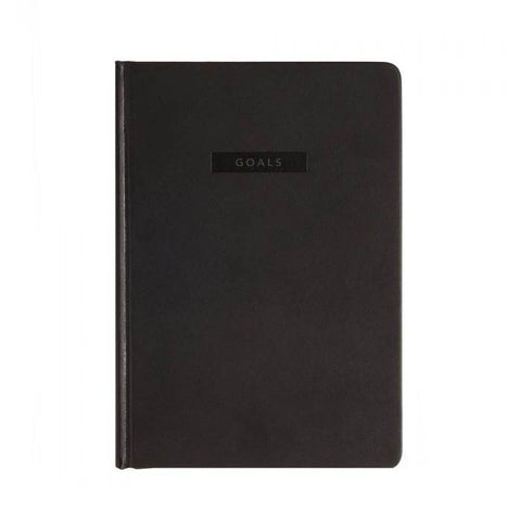MiGoals Goals Journal Black - 11:11 Supply