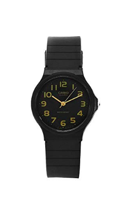 Black & Gold Analog Watch - 11:11 Supply