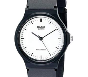 Casio White&Black Minimalist MQ24-7E - 11:11 Supply