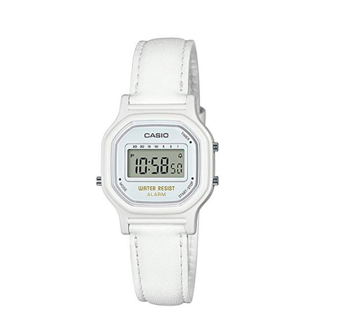 Casio White Leather Watch - 11:11 Supply