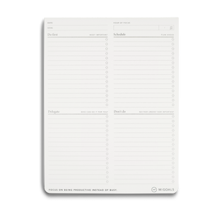 Focus & Prioritizing Task Pad - 11:11 Supply