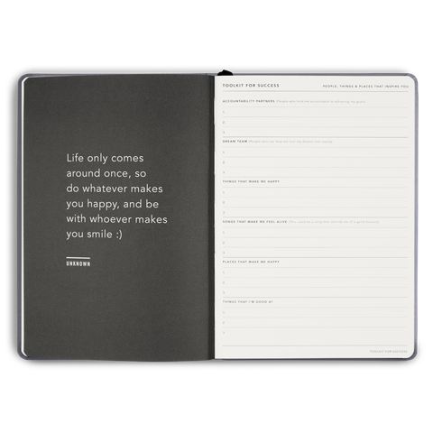 Goals Journal: MiGoals Hardcover - 11:11 Supply