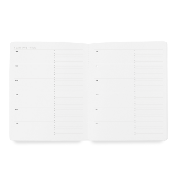 2021 Linen Monthly Planner - 11:11 Supply