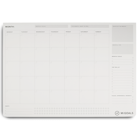 Large Monthly Pad & Blotter - 11:11 Supply