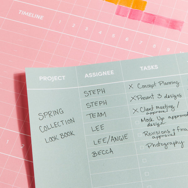 Project Wall Planner - 11:11 Supply