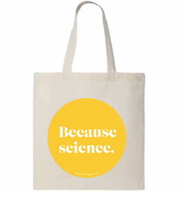 Cotton Tote: Because Science - 11:11 Supply