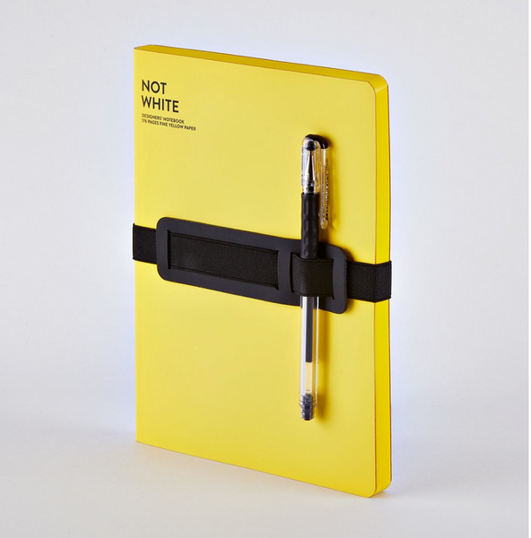 Nuuna Not White A5 Yellow Notebook - 11:11 Supply