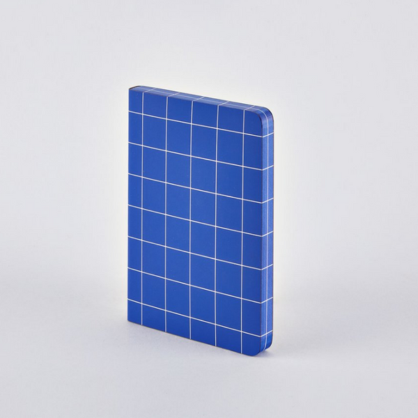 Nuuna: Break the Grid A6 Blue Notebook - 11:11 Supply