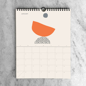 2021 Wall Calendar: Abstract - 11:11 Supply
