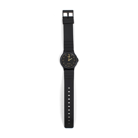 Casio Black & Gold MQ24-1E Watch - 11:11 Supply