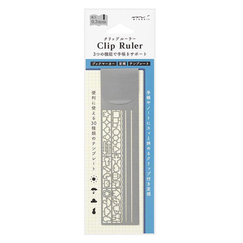 Bookmark Stencil & Ruler - 11:11 Supply