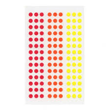 Stalogy Circular 5mm Dot Stickers Multiple Colors - 11:11 Supply