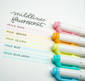 Mildliner 5 Color Sets - 11:11 Supply