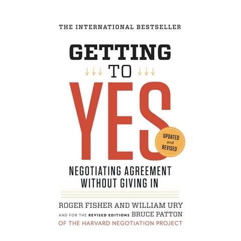Getting to Yes Paperback - 11:11 Supply
