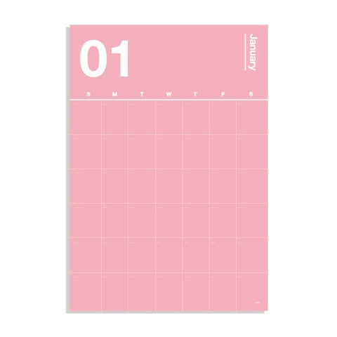Poketo Spectrum Wall Calendar - 11:11 Supply