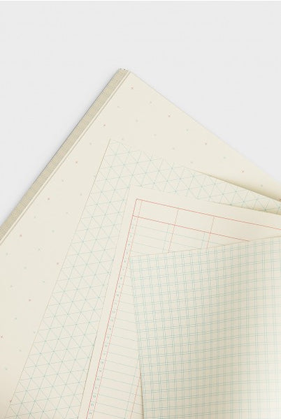 Grids & Guides Notebook: Grid A5 Black - 11:11 Supply