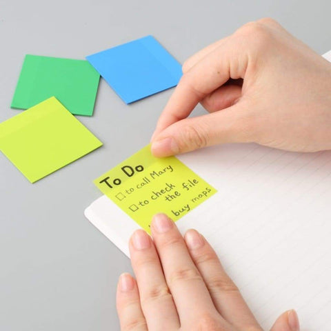 Transluscent Stickies 50mm - 11:11 Supply