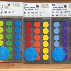Dot Translucent Stickers 16mm - 11:11 Supply