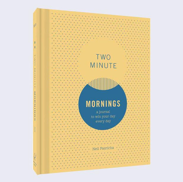 Two Minute Mornings: Win Your Day, Every Day Journal - 11:11 Supply
