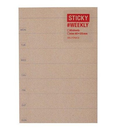 Weekly Stickies - 11:11 Supply