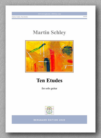Martin Schley, Ten Etudes - preview of the cover
