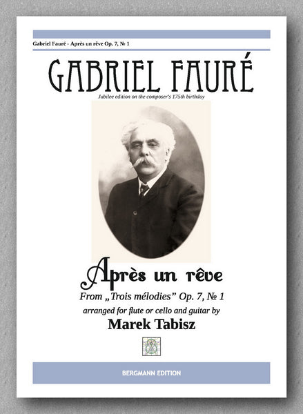 Faure-Tabisz, Après un rêve - op 7 No 1 - preview of the cover