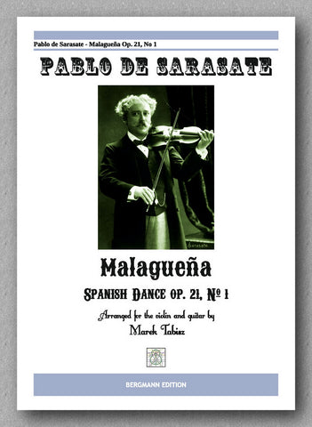 PABLO DE SARASATE, MALAGUEÑA - preview of the cover
